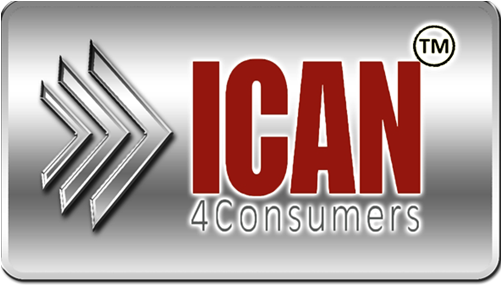 iCAN4Consumers-an independent, third-party issuer of credit card refunds helping Consumers and Merchants quickly and easily resolve disputes for Online Purchases!
